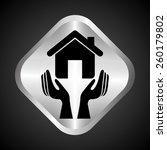 insurance concept design ... | Shutterstock .eps vector #260179802