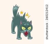 cartoon cat   | Shutterstock . vector #260212412