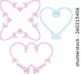 frame border design vector art   Shutterstock .eps vector #260215406