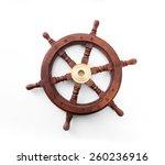 Old Boat Steering Wheel...