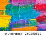 abstract art background. hand... | Shutterstock . vector #260250512