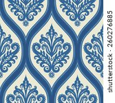 seamless ornament with... | Shutterstock .eps vector #260276885