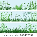 meadows | Shutterstock .eps vector #260309852