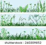 meadows | Shutterstock .eps vector #260309852