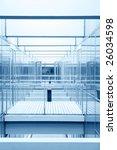 modern glass architecture | Shutterstock . vector #26034598