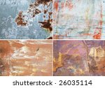 old rusty surfaces great as a... | Shutterstock . vector #26035114