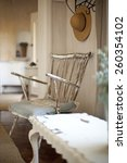 shabby chic interior design    Shutterstock . vector #260354102