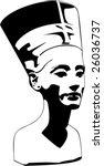 Vector Head Of Nefertiti