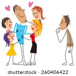 popular among men and mote no... | Shutterstock .eps vector #260406422