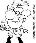 an illustration of a cartoon... | Shutterstock .eps vector #260435552