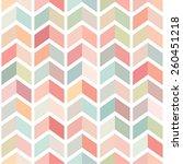 seamless patterns set. vector... | Shutterstock .eps vector #260451218
