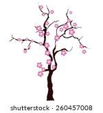 sacura tree | Shutterstock .eps vector #260457008