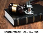 Close Up Of Gavel And...