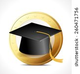 money concept   education  | Shutterstock .eps vector #260471756