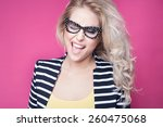 successful young attractive... | Shutterstock . vector #260475068