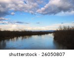 view on a velika morava river... | Shutterstock . vector #26050807