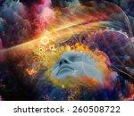 brainwaves series. abstract... | Shutterstock . vector #260508722