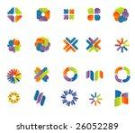 set of vector design elements 5 | Shutterstock .eps vector #26052289