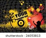 illustration on a dance theme   Shutterstock .eps vector #26053813