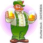 german beer | Shutterstock .eps vector #260538806