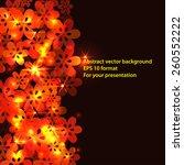 light frame background for your ... | Shutterstock .eps vector #260552222