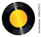 an illustration of a vinyl... | Shutterstock .eps vector #260612072