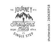 wilderness quote typographic... | Shutterstock .eps vector #260630918