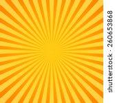 sunburst  rays  beams. glowing  ... | Shutterstock .eps vector #260653868