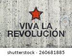 Viva La Revolucion Graffiti On...