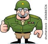 an illustration of a cartoon... | Shutterstock .eps vector #260686526