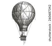 Aerostat  Balloon On A White...