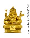 elephant   headed god monk... | Shutterstock . vector #260699645