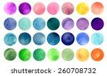 watercolour circle textures....