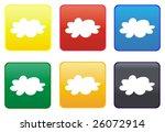 web button   cloud