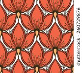 Seamless Floral Pattern  Vecto...