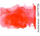 Red Watercolor Background For...