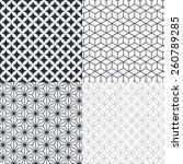 seamless geometric pattern ... | Shutterstock .eps vector #260789285