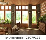 modern interior | Shutterstock . vector #26079139