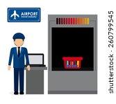 travel icon design  vector... | Shutterstock .eps vector #260799545