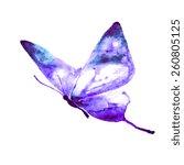 Stock vector butterflies design 260805125