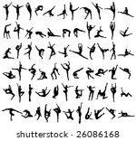 women's movement | Shutterstock .eps vector #26086168