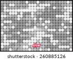 mirror mosaic modern texture | Shutterstock .eps vector #260885126