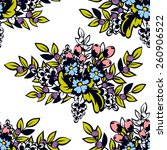 abstract elegance seamless...   Shutterstock .eps vector #260906522