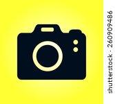photo camera simbol. dslr...