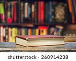 the book is on the shelf | Shutterstock . vector #260914238