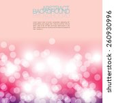 pink lighting abstract... | Shutterstock .eps vector #260930996