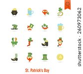 saint patricks day isolated... | Shutterstock .eps vector #260973062