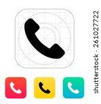 call answer icon.
