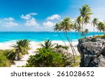 bottom bay is one of the most... | Shutterstock . vector #261028652