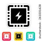 cpu power icon.